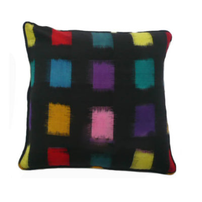 Mondo Square Ikat reversible cushion