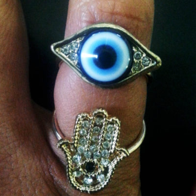 Eye of Fatima Ring