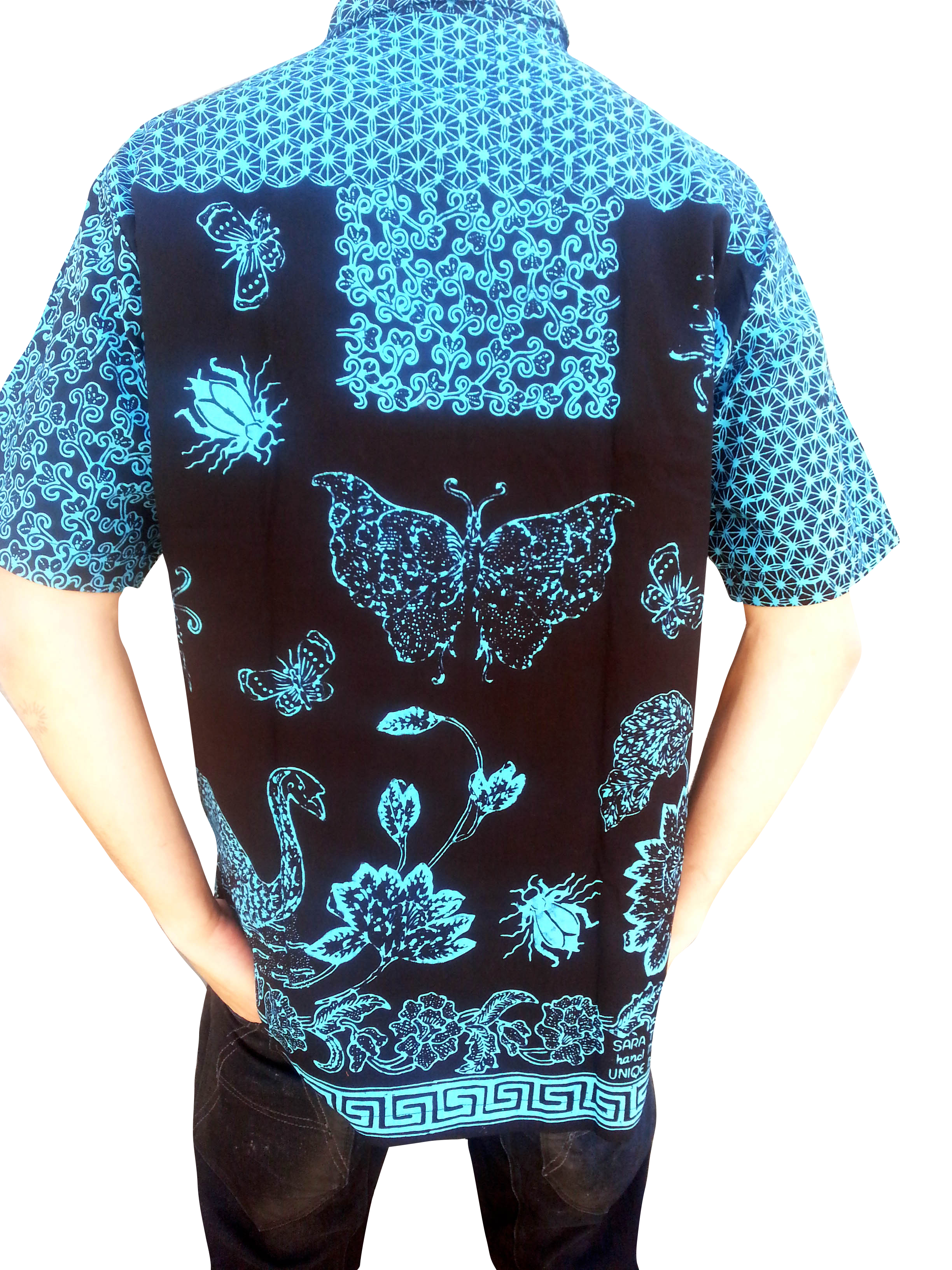 nature batik shirt. Black Bedroom Furniture Sets. Home Design Ideas