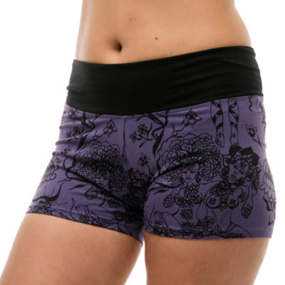 Purple Goddess shorts