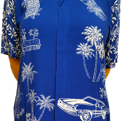 Tropical Motel batik shirt